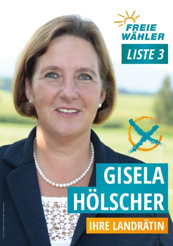 Plakat Gisela Hölscher 2020